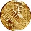 Česká jména - Štefan - velká zlatá medaile 1 Oz