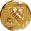 Česká jména - Štěpán - velká zlatá medaile 1 Oz