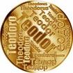 Česká jména - Teodor - velká zlatá medaile 1 Oz