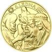 Tři králové 25 mm zlato b.k.