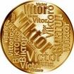 Česká jména - Viktor - velká zlatá medaile 1 Oz
