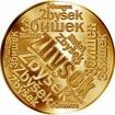 Česká jména - Zbyšek - velká zlatá medaile 1 Oz