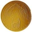 Zlaté znamení zvěrokruhu - Panna b.k. na řetízku