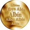 Slovenská jména - Albín - zlatá medaile