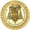 Povýšení pražského biskupství na arcibiskupství - 670 let - 1 Oz zlato b.k.