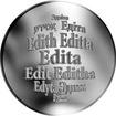 Česká jména - Edita - stříbrná medaile