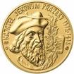 Kazatel Jeroným Pražský - 600. výročí zlato b.k.