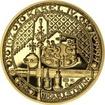 Nejkrásnější medailon IV. - Karlštejn zlato Proof
