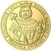 Korunovace Přemysla Otakara I. českým králem - zlato Proof
