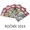 časopis Mince a bankovky ročník 2014