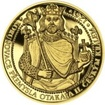 Korunovace Přemysla Otakara II českým králem - zlato Proof