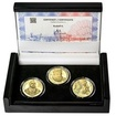RUDOLF II. – návrhy mince 200 Kč - sada 3x zlato Proof