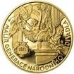 Vojtěch Hynais - 160. výročí narození zlato b.k.