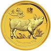 2019 Pig 1/2 Oz Australian gold coin UN