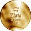 Česká jména - Zlata - zlatá medaile