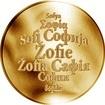 Česká jména - Žofie - zlatá medaile