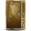 Medaile s motivem známky - Zrzka 1/4 Oz zlato
