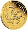 Zlatá mince Rok hada 2013 1000 g