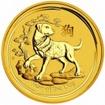 Zlatá mince Rok psa, Lunární serie II. 1/2 unce