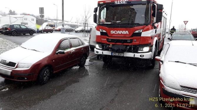 Fotografie: Hasičský záchranný sbor Plzeňského kraje