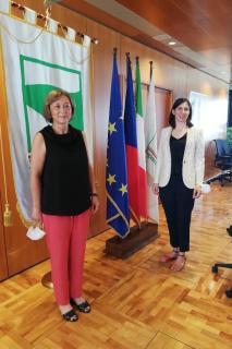 velvyslankyně ČR a zástupkyně guvernéra regionu Emilia Romagna