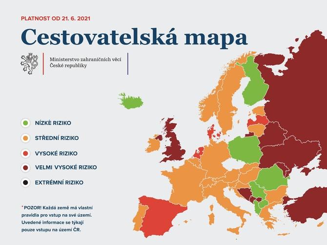 Cestovatelská mapa od 21.6.