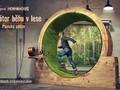 Simulátor běhu v lese