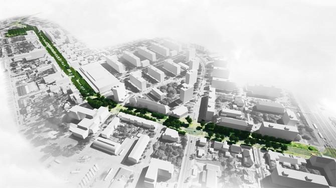 Zdroj vizualizace bud. podoby Masarykovy ulice: Městský obvod Plzeň 4