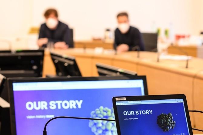 Tisková konference (fotografie: M. Pecuch)
