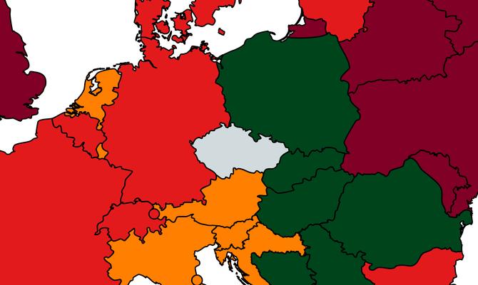 Německo s vysokým rizikem nákazy COVID-19