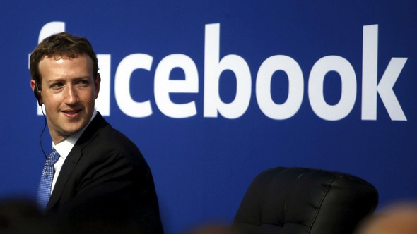Facebook Marck Zuckerbeg