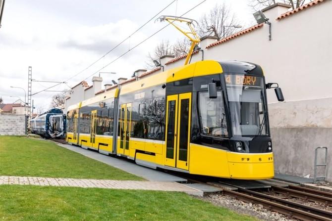 Zdroj fotografií a vizualizace: Škoda Transportation